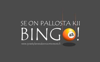 Seuraava bingo on 18.11. – tervetuloa!