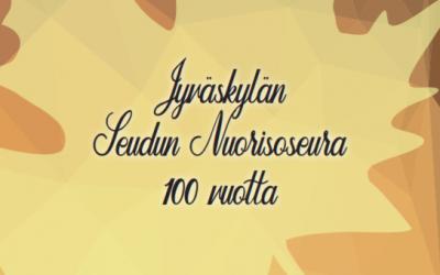 Ilmoittaudu Nuorisoseuran 100-vuotisjuhlaan!