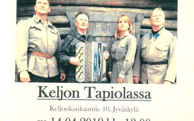 Vartiossa-konsertti Tapiolassa 14.4.